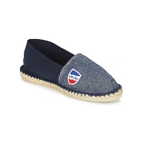 1789 Cala CLASSIQUE BICOLORE men's Espadrilles / Casual Shoes in Blue
