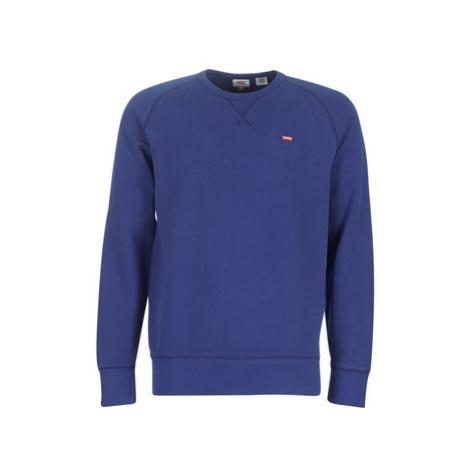 Levis ORIGINAL HM ICON CREW men's Sweatshirt in Blue Levi´s