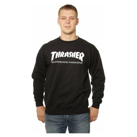 sweatshirt Thrasher Skate Mag Crew - Black