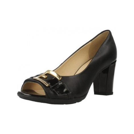 Geox D ANNYA women's Court Shoes in Black