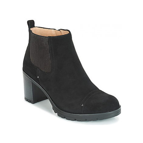 Stonefly BLASY 2 VELOUR women's Low Ankle Boots in Black