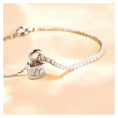 P D PAOLA Silver Bond Bracelet