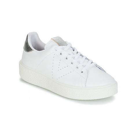 Victoria UTOPIA RELIEVE PIEL women's Shoes (Trainers) in White