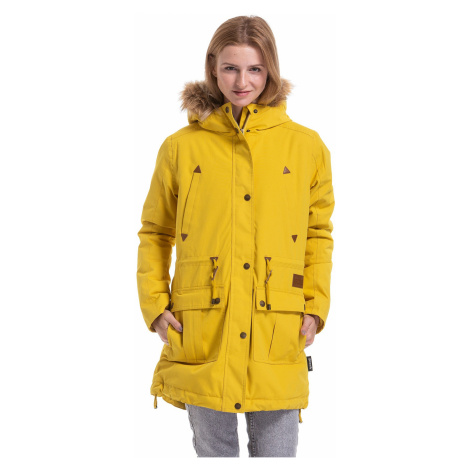 jacket Meatfly Rainy 3 - F/Yellow - women´s