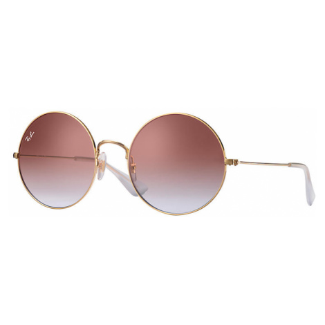 Ray-Ban Ja-jo Women Sunglasses Lenses: Violet, Frame: Gold - RB3592 001/I8 55-20