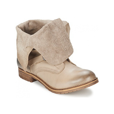 Casual Attitude NYGACHON women's Mid Boots in Beige
