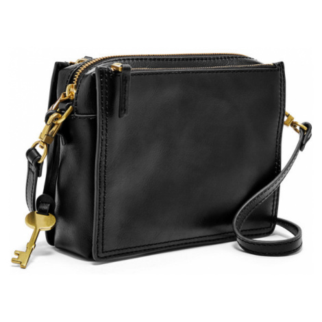 Fossil Women Campbell Crossbody Black - One size