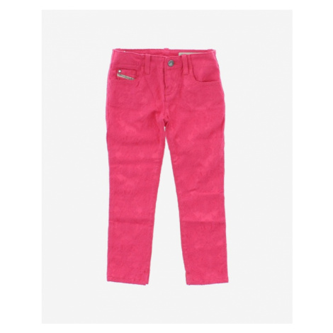 Diesel Kids Trousers Pink