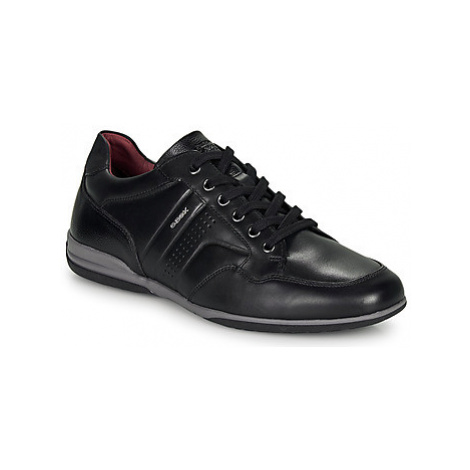 Geox U TIMOTHY men's Shoes (Trainers) in Black