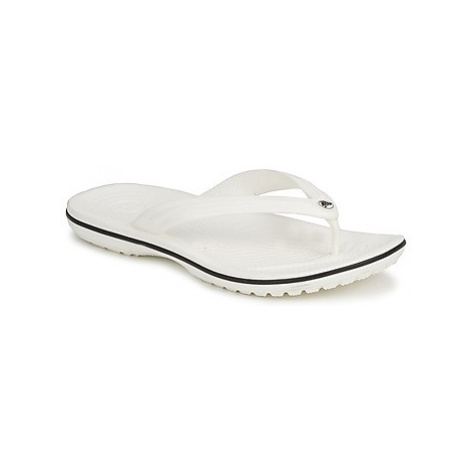 Crocs CROCBAND FLIP women's Flip flops / Sandals (Shoes) in White
