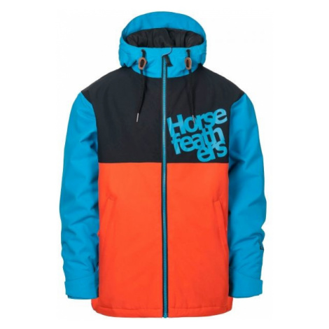 Horsefeathers ATOL YOUTH JACKET orange - Boys' ski/snowboard jacket