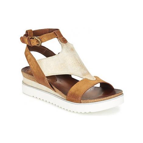 Dream in Green GRATA FEDA women's Sandals in Brown