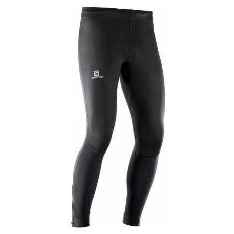 Salomon AGILE LONG TIGHT M black - Men's running pants