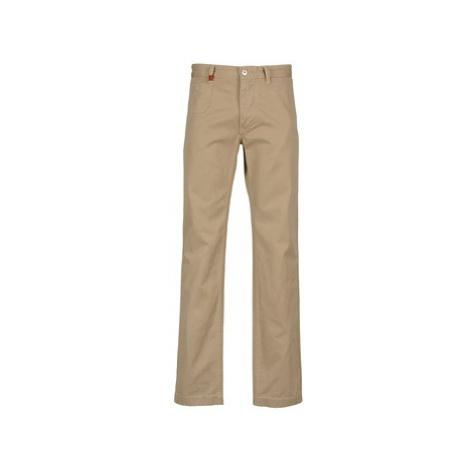 Beige men's trousers