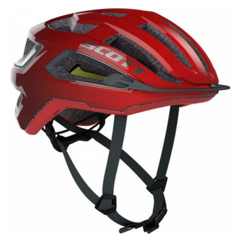 Scott ARX PLUS red - Cycling helmet
