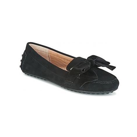Lauren Ralph Lauren BAYLEIGH women's Loafers / Casual Shoes in Black
