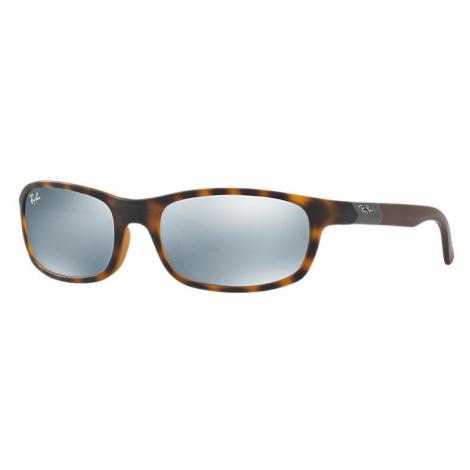 Ray-Ban Rj9056s Unisex Sunglasses Lenses: Gray, Frame: Brown - RJ9056S 702730 50-16