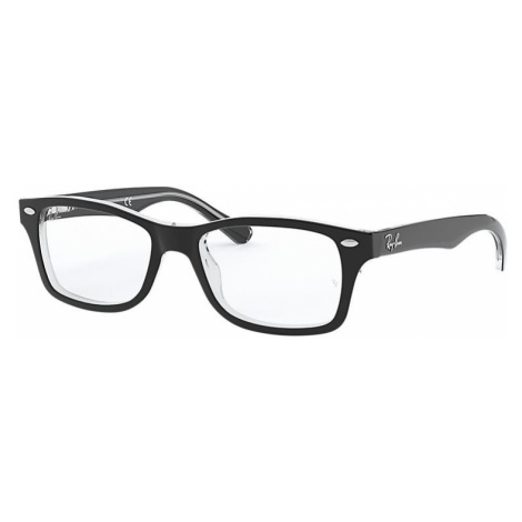 Ray-Ban Rb1531 Unisex Optical Lenses: Multicolor, Frame: Black - RB1531 3529 46-16