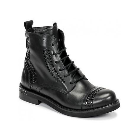 Mimmu MARKO women's Mid Boots in Black