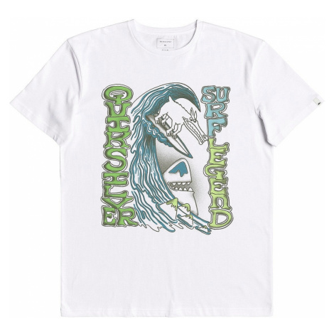 T-Shirt Quiksilver Diving To Deep - WBB0/White - kid´s