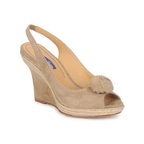 Atelier Voisin ALIX women's Sandals in Beige