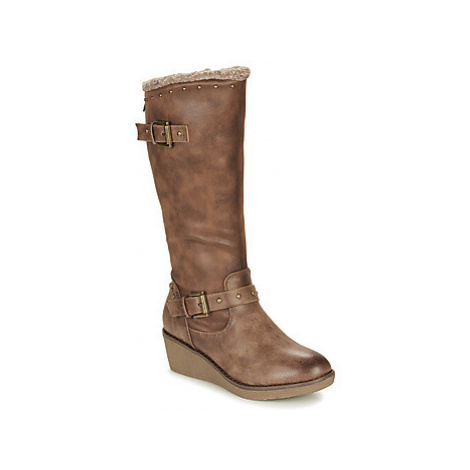 Refresh 69200-TAUPE women's High Boots in Brown