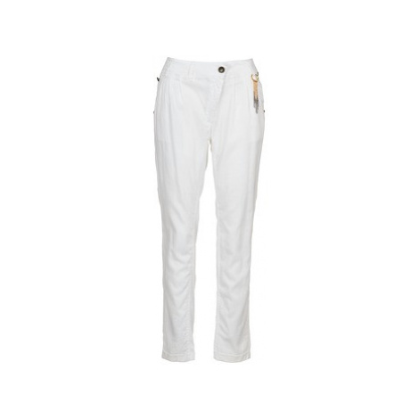Freeman T.Porter ALLY women's Trousers in White Freeman T. Porter