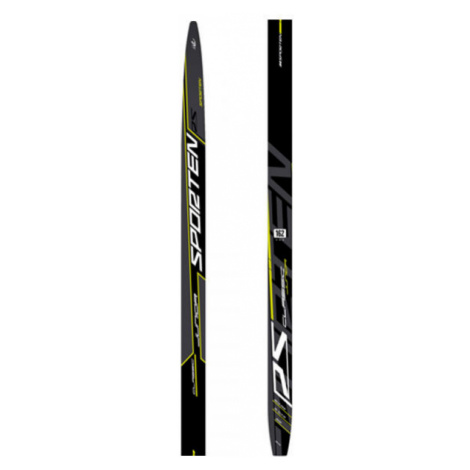 Sporten RS CLASSIC JR SKIN - Children's classic style Nordic skis with uphill travel support