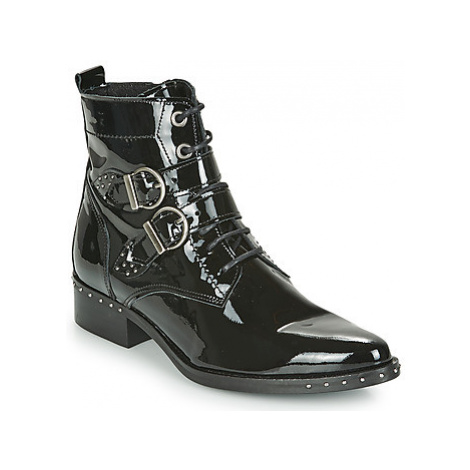 Philippe Morvan SWAG V8 VERNIS women's Mid Boots in Black