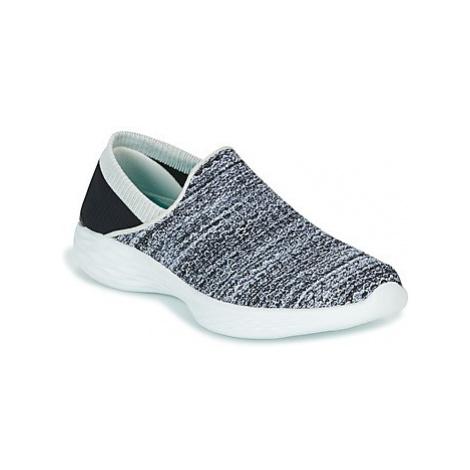 Skechers YOU women's Slip-ons (Shoes) in Black
