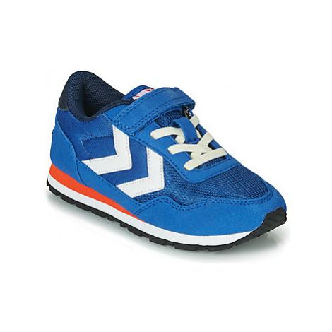 Hummel REFLEX JR girls's Children's Shoes (Trainers) in Blue