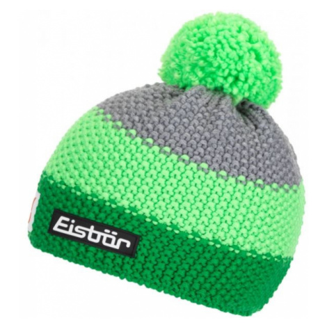 Eisbär STAR NEON POM MÜ SP KIDS green - Children's bobble hat