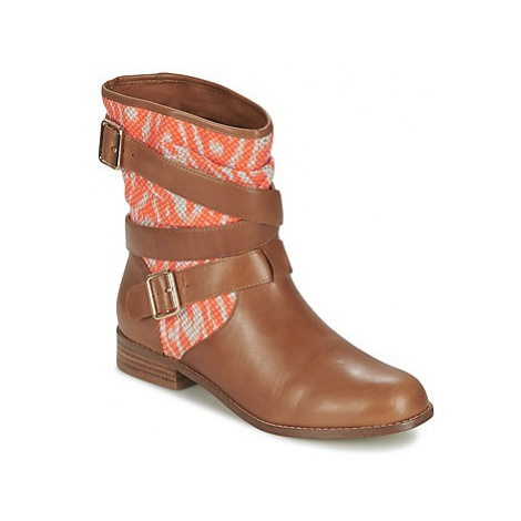 Mellow Yellow VABELO women's Mid Boots in Brown