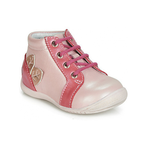 GBB FRANCKIE girls's Children's Shoes (High-top Trainers) in Pink