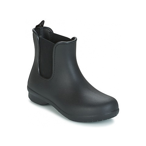 Crocs CROCS FREESAIL CHELSEA women's Mid Boots in Black