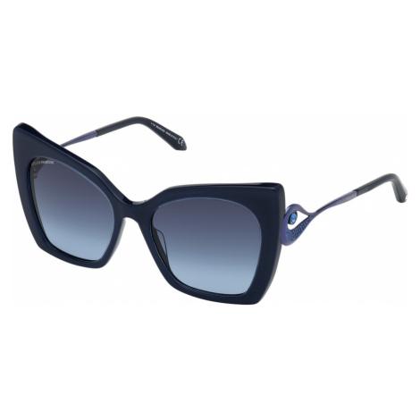 Tigris Sunglasses, SK0271-P 90W, Blue Swarovski