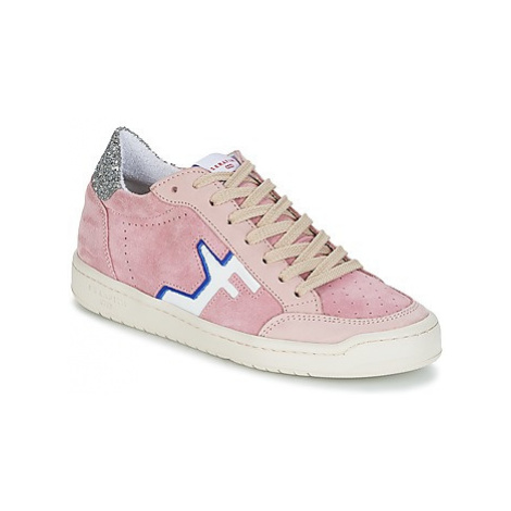 Serafini SAN DIEGO LOW women's Shoes (Trainers) in Pink
