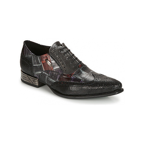 New Rock SALSO men's Smart / Formal Shoes in Black