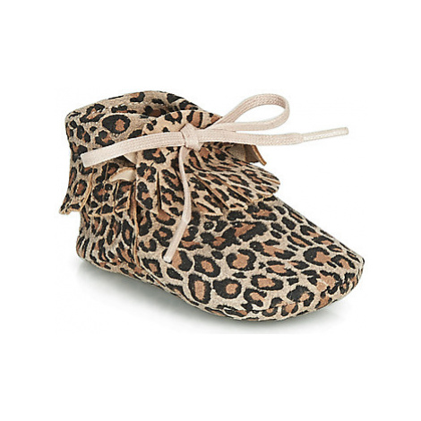 Citrouille et Compagnie LILIFI girls's Children's Slippers in Brown