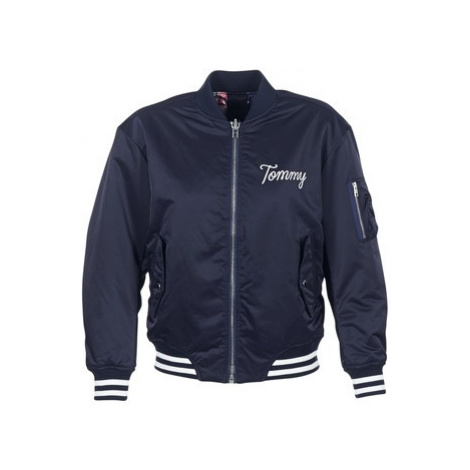 Tommy Jeans TJW REVERSIBLE BOMBER 29 women's Jacket in Blue Tommy Hilfiger