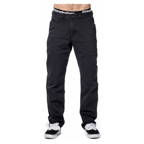 pants Horsefeathers Macks Max - Black - men´s