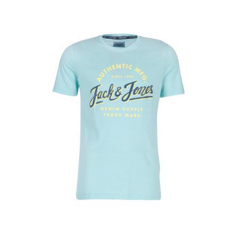 Jack Jones JORQUINN men's T shirt in Blue Jack & Jones