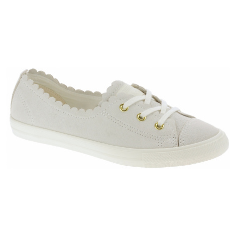 shoes Converse Chuck Taylor All Star Ballet-Scallop OX - 563482/Egret/Gold/Egret - women´s