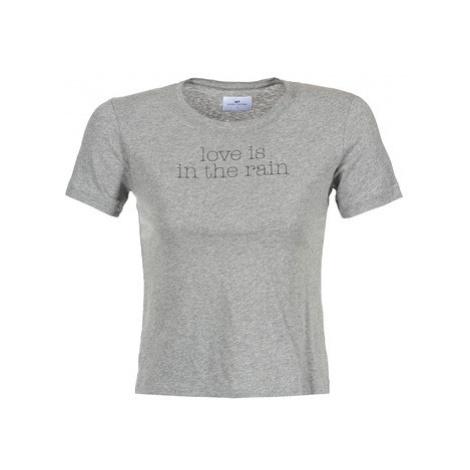 Loreak Mendian LOVE women's T shirt in Grey
