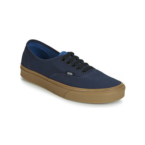 Vans AUTHENTIC men's Shoes (Trainers) in Blue