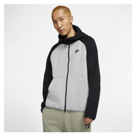 Nike Sportswear Tech Fleece Men's Full-Zip Hoodie - Grey