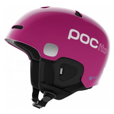 POC POCITO AURIC CUT SPIN pink - Ski helmet