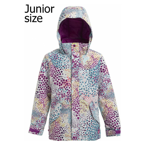 jacket Burton Elodie - Stout White Dots - girl´s