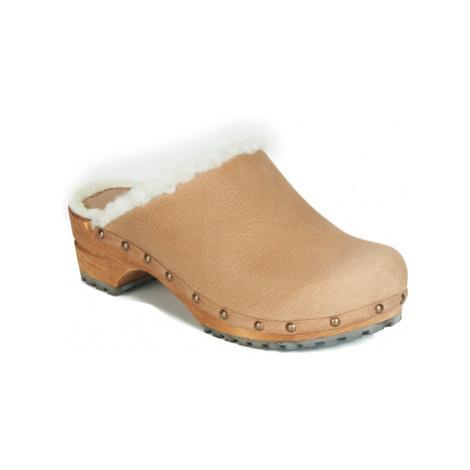 Sanita HESE women's Clogs (Shoes) in Beige