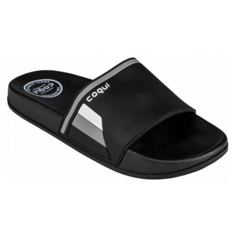 Coqui FLEXI black - Men's slippers